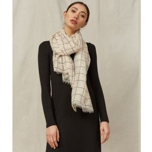 🌻NWT🌻 Rachel Pally I Window Pane Grid Scarf